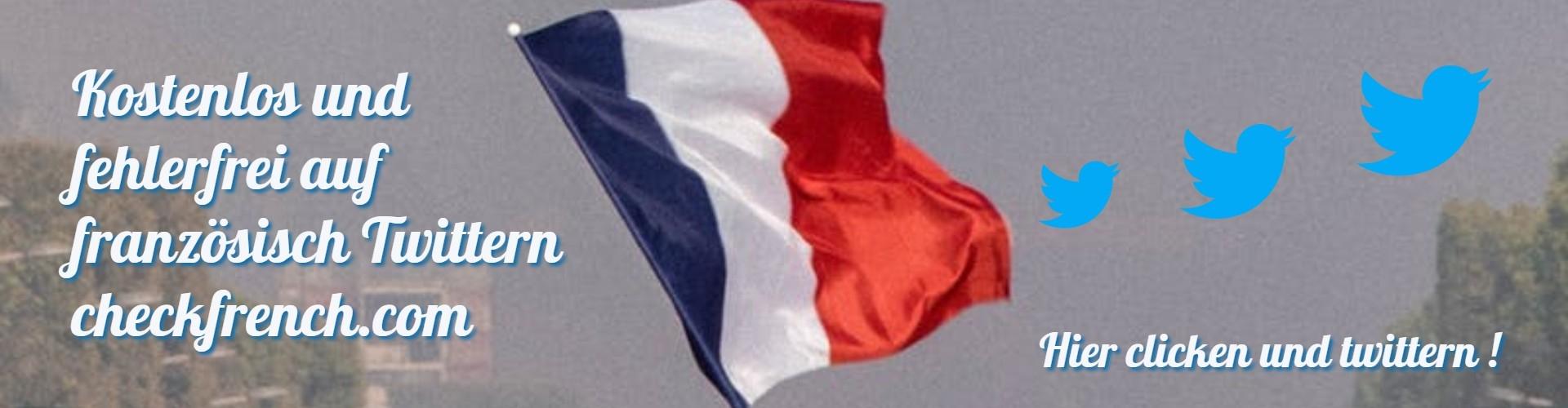 Twittern auf Französisch