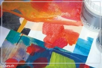 Acrylkurs Malhilfen