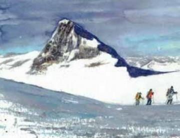 Malkurs Aquarell Berge