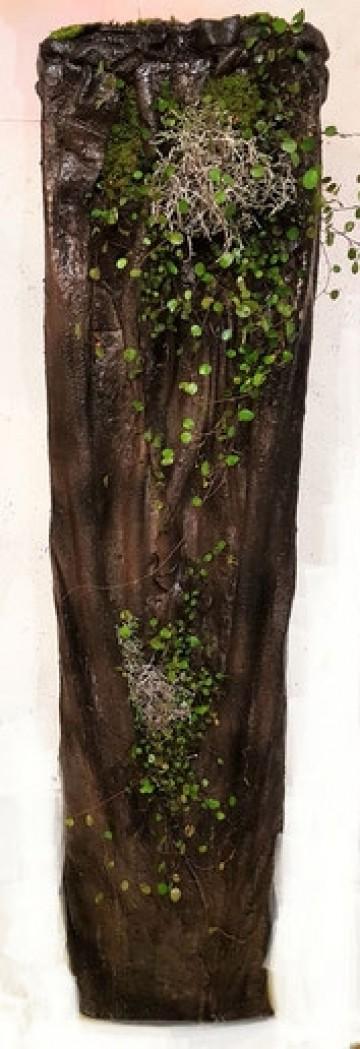 Betonsäulen für den Garten  inkl. Bepflanzung