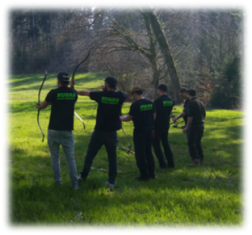 Wald Olympiade Teamevent