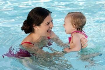 Eltern-Kind-Schwimmen Sonntag