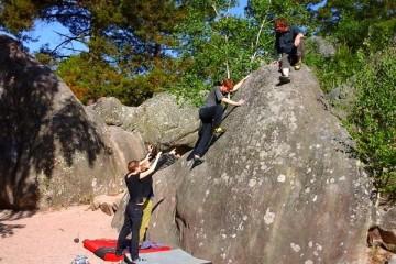 Kletterkurs Fontainebleau