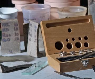 Keramikkurs Glasurmischen