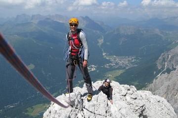 Kletterkurs Dolomiten
