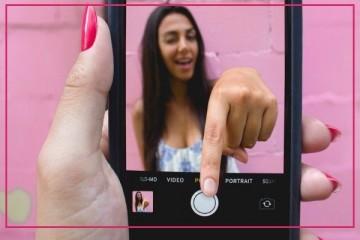 Fotografieren mit einem Mobiltelefon