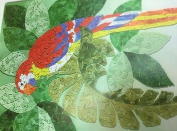 Gestaltungskurs Mosaik
