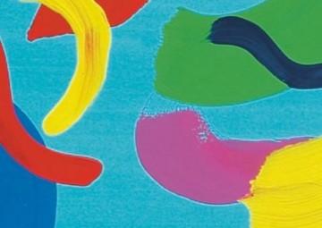 Spielfeld für spontanes Malen