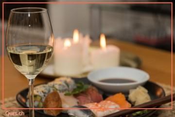 Wein-und Sushikurs