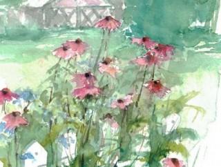 Malkurs Blumen, Hintergründe, Bauerngärten