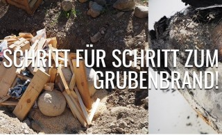 Grubenbrand Pit firing