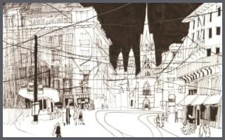 Zeichenkurs: Urban Sketching - Skizzieren in der Stadt