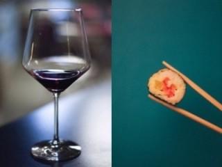 Sushi und Wein