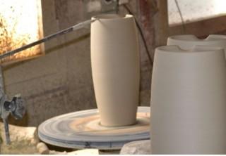 Keramikkurs Töpferscheibe