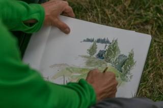 Nature-Sketching-Kurs