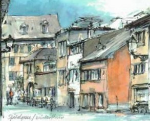 Malkurs Aquarell: Unterwegs in Winterthur