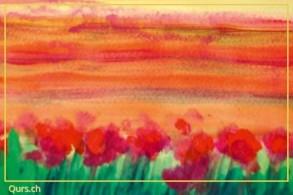 Farbkurs: Entspannung - In Resonanz mit Farben.