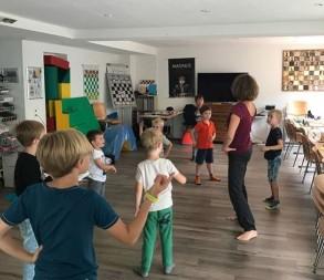 Schach-Feriencamp in Zug