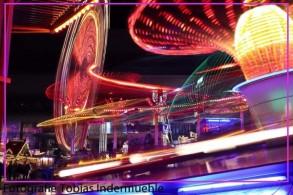 Fotokurs: Langzeitbelichtung von bewegten Lichter an der Herbstmesse Basel