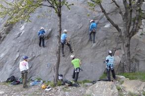 Basiskletterkurs Outdoor: Heidiland - Klettergartenland