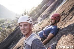 Kletterferien für Einsteiger im Tessin