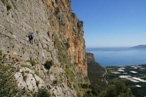 Kletterkurs: Leonidio - Klettergarten auf der griechischen Halbinsel Peloponnes