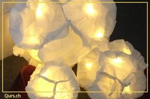 Kreativkurs: Insel-Morgen - Lichtobjekte und Lampen aus Papier