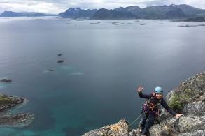Klettertour : Lofoten Clean Climbing