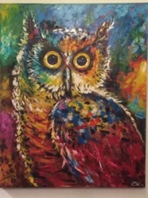 Malen mit Acryl und Oel