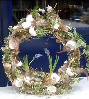 Floristikkurs: Ostergestecke kreieren