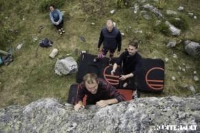Aktives Yoga-Boulder-Retreat in schöner Berglandschaft