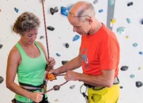 Kletterkurs Schnupperklettern 50plus