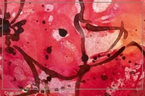 Malkurs:  Linie und Fläche - Spontanes skizzieren mit Acrylfarben