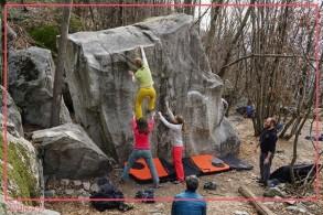 Boulderkurs im Tessin