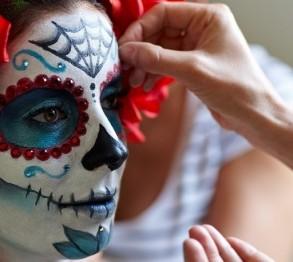 Mexikanische Totenmasken
