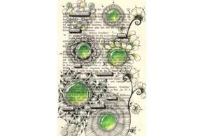 Zeichenkurs: Zentangle - Buchseite