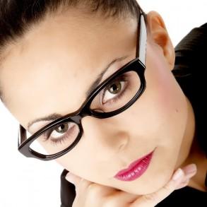 Brillen-Makeup
