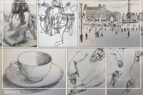 Zeichnenkurs: Zeichnen am Freitagvormittag